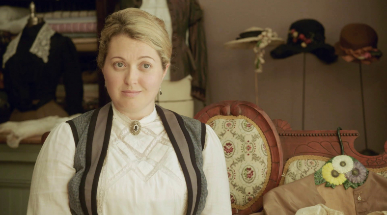 """As Susan Smith in Lifetime's biopic """"Lizzie Borden Took An Ax"""" starring Christina Ricci"""